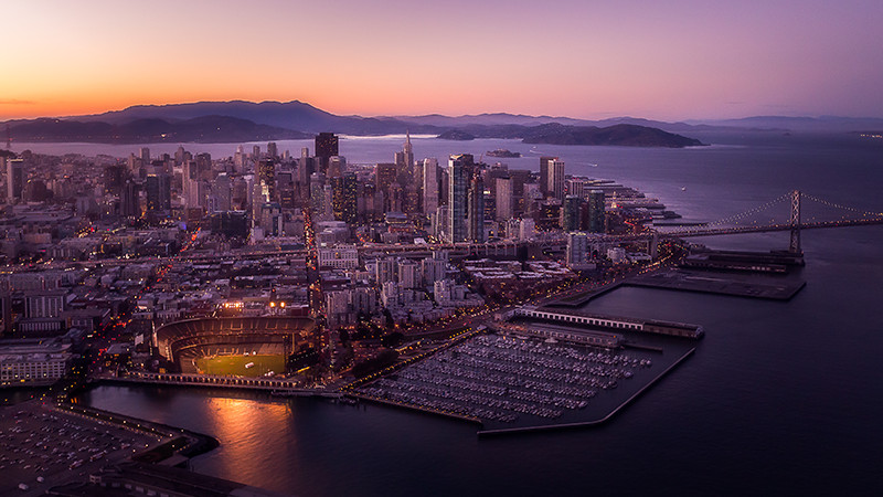Skyline view of San Francisco